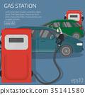 petrol,car,vector 35141580