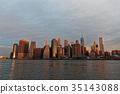 曼哈顿 建筑 建筑群 35143088