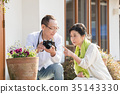 photocamera, senior, couple 35143330