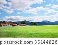 山丘 藍天 歐洲 35144826