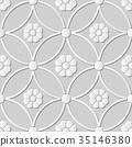 無縫的 花紋 圖樣 35146380