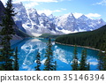 Lake Moraine Canadian Rockies 35146394