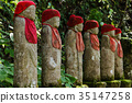 Background material Jizo 35147258