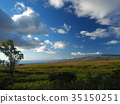 Hawaii Island scenery View of Haleakala from Kohala 35150251