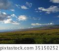 Hawaii Island scenery View of Haleakala from Kohala 35150252