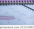 商業形象·日曆·記事本·女性·5月 35151982