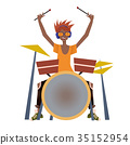 鼓手 鼓 打鼓 35152954