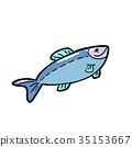魚 動物 食物 35153667