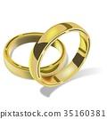 婚戒 向量 向量圖 35160381