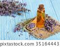 향기, 라벤더, 꽃 35164443