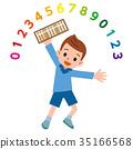 算盤 小孩 兒童 35166568