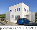 Housing image Blue sky Car space 35166914