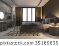 床 家具 房间 35169635