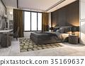床 家具 房间 35169637