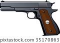 firearm, pistol, pistols 35170863