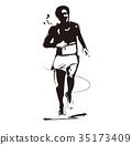 馬拉松賽跑 田徑 田徑賽事 35173409