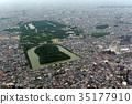 Aerial photograph of Emperor Nintoku 35177910