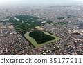 Aerial photograph of Emperor Nintoku 35177911