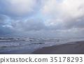 Baltic sea coast landscape 35178293