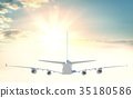 Commercial passenger airplane 35180586