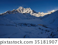 새벽의 파리 라뿌체과 얼어 붙은 고쿄레이쿠 (네팔 에베레스트 가도) 35181907