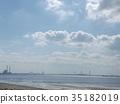 ท้องฟ้าเป็นสีฟ้า,ฤดูใบไม้ร่วง,หาดทราย 35182019