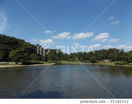 이나게 해변 공원, 이나게카이헨코엔, 연못 35182412