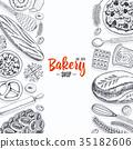 面包 食物 食品 35182606
