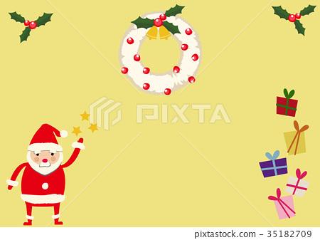 크리스마스, 성탄절, 산타클로스 35182709