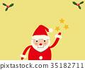 크리스마스 산타 클로스 클립 아트 35182711