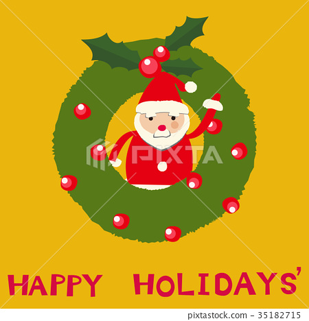 크리스마스 산타 클로스 클립 아트 35182715