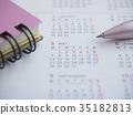 商業形象·日曆·記事本·女性·5月 35182813