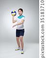 運動 球 排球 35183710