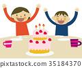 蛋糕 慶生 生日 35184370