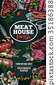 meat, house, delicatessen 35186388