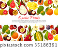 fruit exotic tropical 35186391