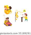 vector amusement park 35189291