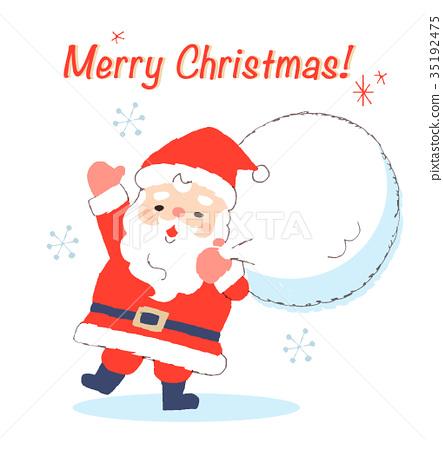 산타클로스, 산타 할아버지, 크리스마스 35192475