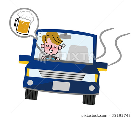 Drunk driving male 35193742