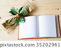 Christmas Ribbon beautiful and notebook 35202961
