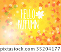 hello autumn abstract nature background 35204177