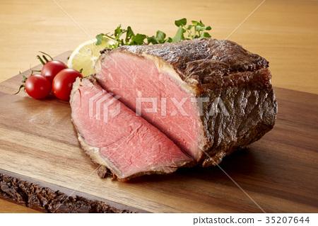 烤牛肉塊 35207644