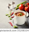 Homemade tomato soup 35208334
