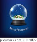 水晶 冬天 冬 35209072