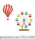 balloon ferris wheel 35211284
