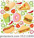 sandwich, burger, hamburger 35211699
