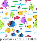 background, fish, aquarium 35211879