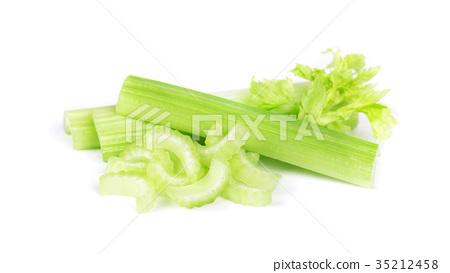 Celery isolated on white background 35212458