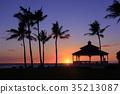 하와이의 석양 35213087
