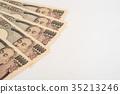 화폐, 지폐, 일본 엔 35213246